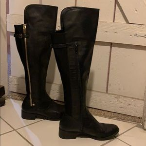 Calvin Klein Gladys Equestrian over the knee boot
